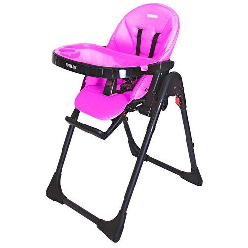 Стульчик для кормления IVOLIA Hope, 2 колеса, pink