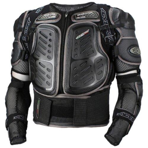 Защита спины, защита локтей, защита поясницы AGVSPORT A16807 черный/серый S