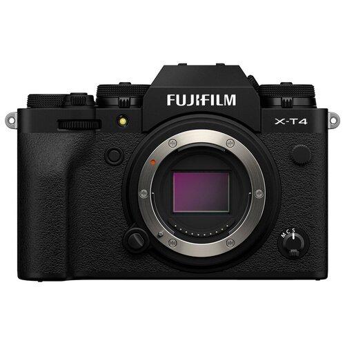 Фото - Фотоаппарат Fujifilm X-T4 Body черный цифровой фотоаппарат fujifilm x pro3 body dr silver