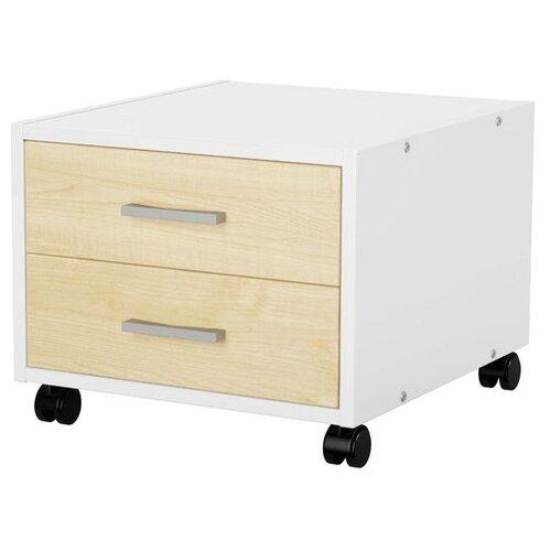 Фото - Тумба для парты KETTLER Kett-Up, ШхГхВ: 46х41х28 см, цвет: белый/клен ящик kettler w40106 белый серый