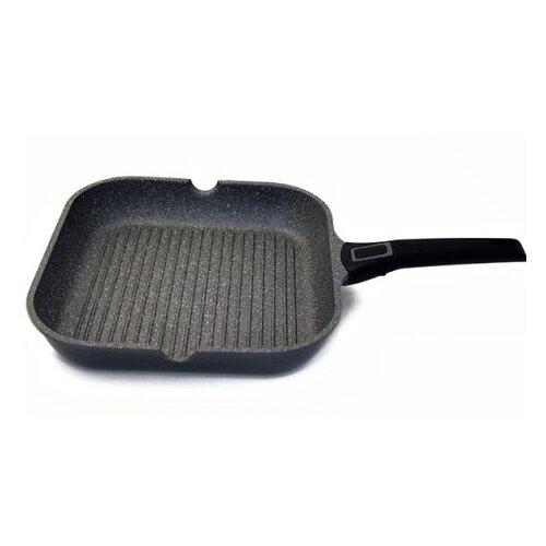 Фото - Сковорода-гриль GIPFEL BATISTA, 28х28 см сковорода gipfel batista 2682 24 см съемная ручка серый