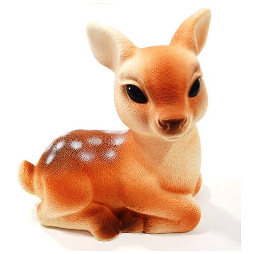 Фото - Игрушка для ванной ОГОНЁК Олененок Бемби (С-710) оранжевый игрушка для ванной огонёк лев бонифаций с 644 оранжевый