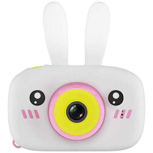 Фото - Фотоаппарат GSMIN Fun Camera Rabbit со встроенной памятью и играми белый/розовый тапочки с памятью размер 40 41 комфорт