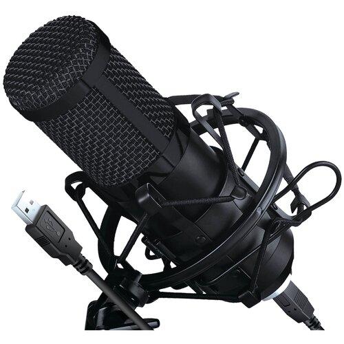 Микрофон HIPER Broadcast USB Set (H-M003), черный