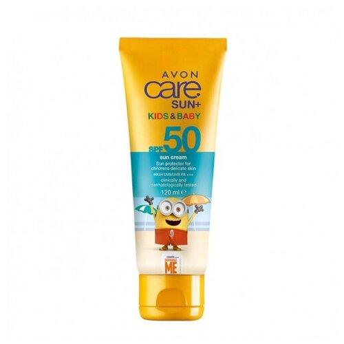 Купить Солнцезащитный крем для детской кожи SPF 50, AVON, 120 мл