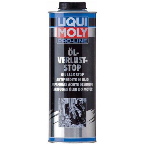 Герметик для ремонта автомобиля LIQUI MOLY Pro-Line Oil-Verlust-Stop 5182, 1000 мл желтый герметик для ремонта автомобиля набор для ремонта автомобиля liqui moly auspuff bandage 3344 бесцветный