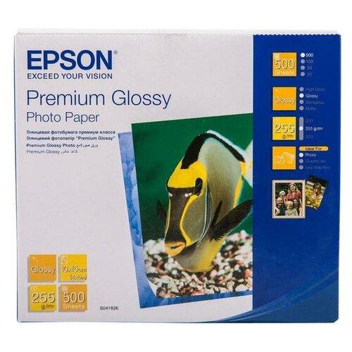 Фото - Бумага Epson A6 C13S041826 255 г/м² 500 лист., белый бумага revcol a6 127760 200 г м² 500 лист белый