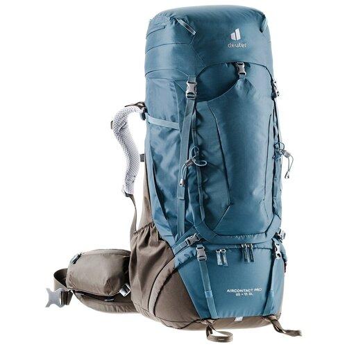 Фото - Рюкзак Deuter Aircontact Pro 65+15 Sl Arctic/Coffee рюкзак вел deuter trans alpine 28 sl 2020 2021 жен 28л розовый 3205120 5563