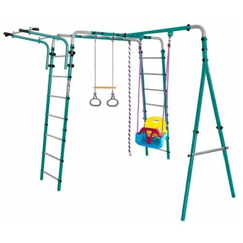 Купить Спортивно-игровой комплекс Midzumi Yokina Ko Small (Детские пластиковые качели 3в1), Игровые и спортивные комплексы и горки