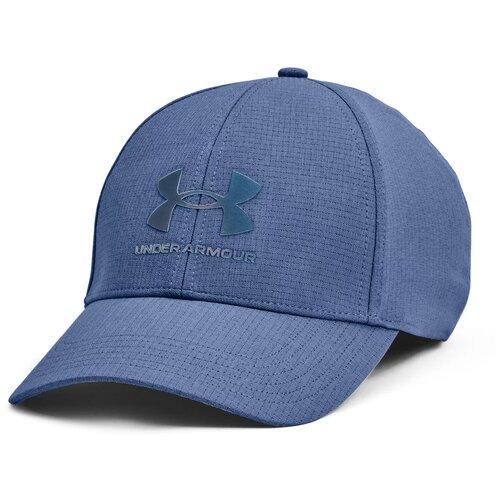 Кепка Under Armour Isochill Armourvent STR размер S/M(53-55), синий бейсболка under armour размер s m white black
