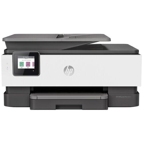 Фото - МФУ HP OfficeJet Pro 8023, черный/белый мфу hp officejet pro 8730 e aio d9l20a