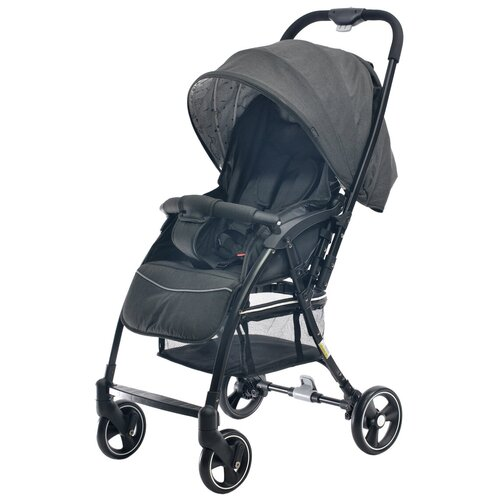 Прогулочная коляска everflo Daily E-510, black прогулочная коляска everflo e 100 simple pink