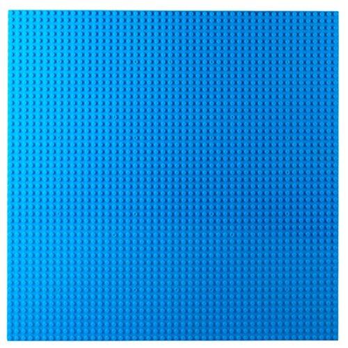 Купить Дополнительные детали Kazi Пластина-основание для конструктора 55001 40х40 см синяя, Конструкторы