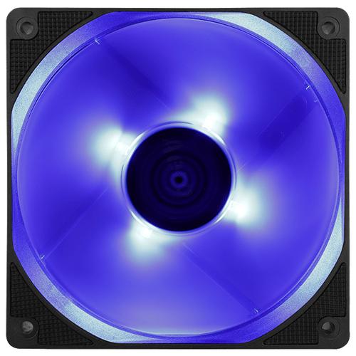 Вентилятор для корпуса AeroCool Motion 12 Plus черный/синий/синяя подсветка 1 шт.