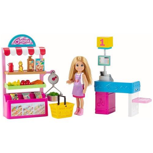 Игровой набор Barbie Челси Супермаркет, GTN67
