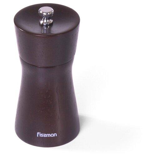 мельница для перца фигурная fissman 11x5 см Мельница для перца Fissman фигурная 11x5 см (деревянный корпус, нерж.сталь) (8086)