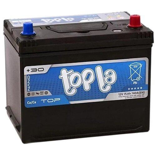 Автомобильный аккумулятор Topla Top JIS 118875 topla аккумулятор легковой topla top jis 45 ач о п b19l