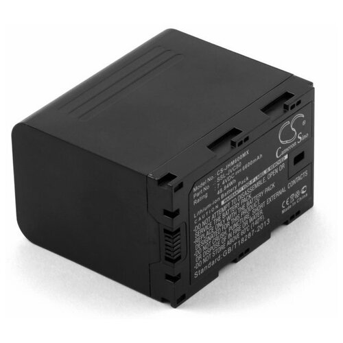 Усиленный аккумулятор для JVC GY-HMQ10 GY-LS300 (SSL-JVC50)
