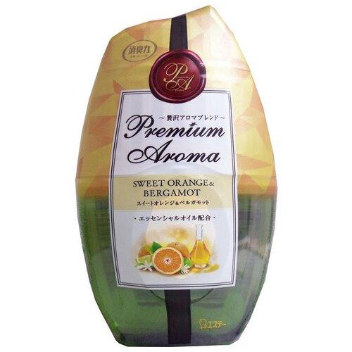 Shoshu-Riki дезодорант-ароматизатор Premium Aroma апельсин и бергамот 400 мл 1 шт. ароматизатор воздуха апельсин elfarma 50 мл