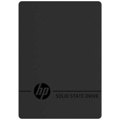 Фото - Внешний SSD HP P600 500GB (3XJ07AA) 500 GB, черный внешний ssd hp p500 500gb 7pd54aa 500 gb синий