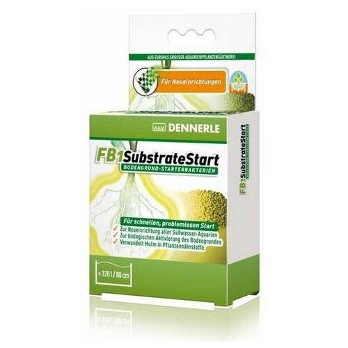 Dennerle FB1 SubstrateStart 50г на 120 литров, Добавка грунтовых бактерий аквариум dennerle nanocube 20 литров 1 шт