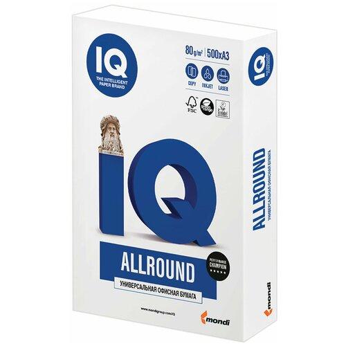 Бумага IQ Allround A3 80 г/м² 500 лист. белый