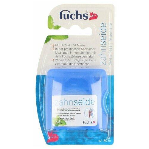 Фото - Fuchs Floss-Refill-мятная зубная нить 50m зубная нить oral b essential мятная 50m 3014260280772