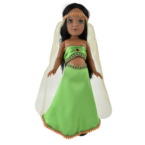 Купить Кукла Vidal Rojas Пепа мулатка в восточном платье (в подарочной коробке), 41 см, 4515, Куклы и пупсы