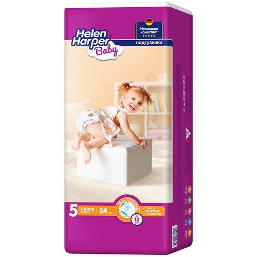 Купить Helen Harper подгузники Baby 5 (11-18 кг), 54 шт., Подгузники