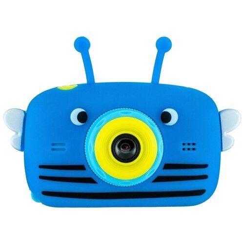 Фото - Фотоаппарат GSMIN Fun Camera View с играми синий фотоаппарат gsmin fun camera rabbit со встроенной памятью и играми голубой