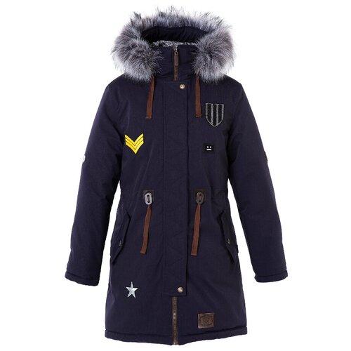 Купить Парка для девочки Talvi 83624, размер 140/68, цвет синий, Куртки и пуховики