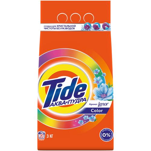 Фото - Стиральный порошок Tide Lenor Touch of Scent Color (автомат), 3 кг стиральный порошок tide color автомат 4 5 кг