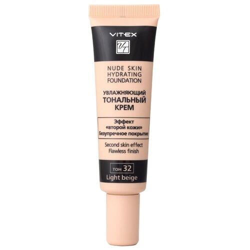 Витэкс Тональный крем Тональный крем Nude Skin Hydrating Foundation, 30 мл, оттенок: 32 light beige