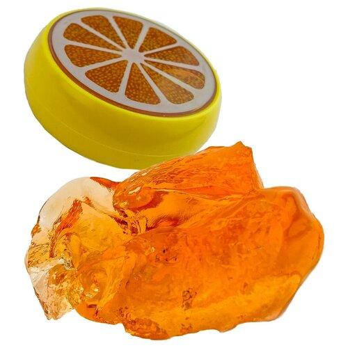 Лизун Город Игр IQ Game Фрукты Апельсин оранжевый
