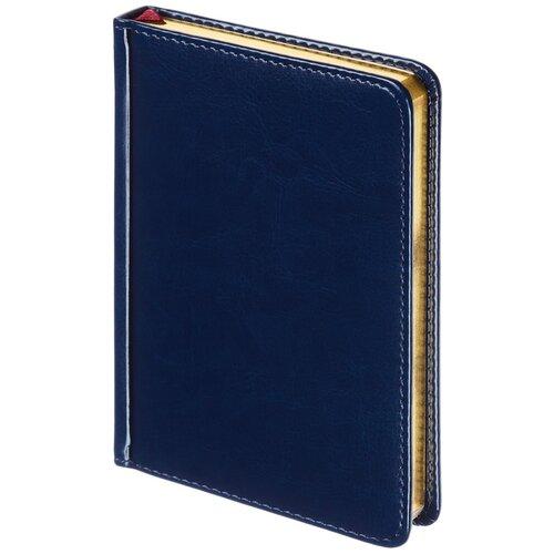 Купить Ежедневник недатированный Альт A6+, 136 листов, Sidney, Nebraska, синий, Ежедневники, записные книжки