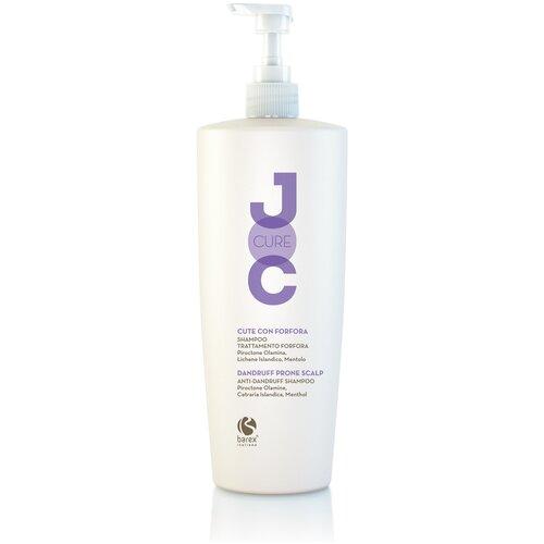 Фото - Barex Шампунь JOC CURE Anti-dandruff shampoo против перхоти с пироктон оламином и лавандой, 1 л barex шампунь joc cure energizing против выпадения волос с имбирем корицей и витаминами 250 мл