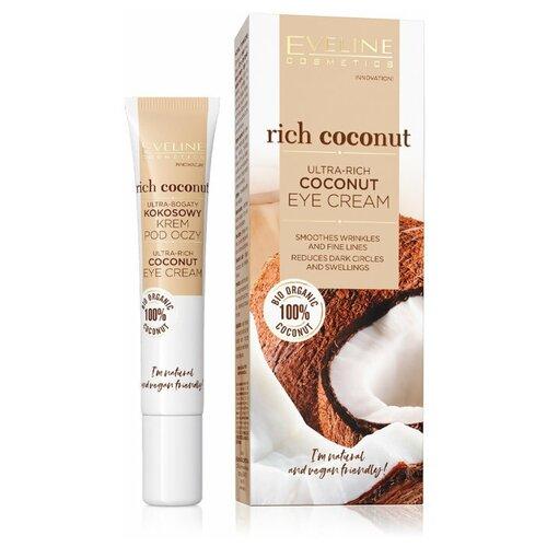 RICH COCONUT Богатый питательный кокосовый крем для кожи вокруг глаз 20мл