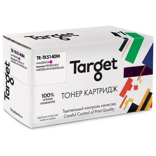 Фото - Тонер-картридж Target TK5140M, пурпурный, для лазерного принтера, совместимый тонер картридж target cf543a пурпурный для лазерного принтера совместимый