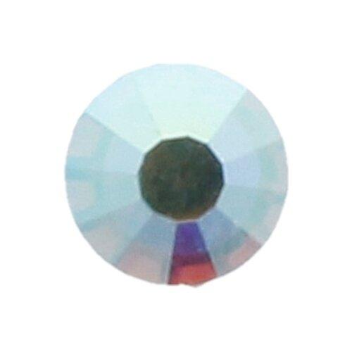 Купить Стразы клеевые PRECIOSA Crystal AB, 3, 9 мм, стекло, 144 шт, в пакете, перламутр (438-11-612 i), Фурнитура для украшений