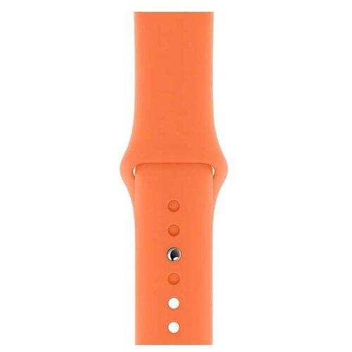 Apple Спортивный ремешок (для корпуса 40 мм), размеры S/M и M/L оранжевый витамин