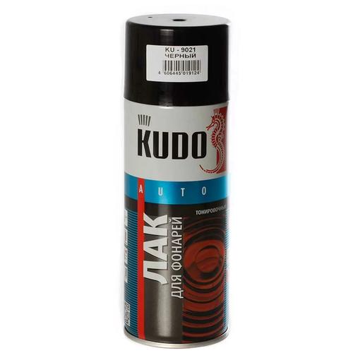 Аэрозольный автомобильный лак KUDO KU-9021 для фонарей 520 мл