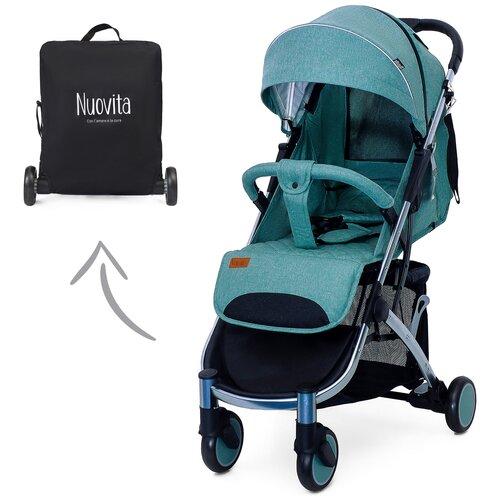 Купить Прогулочная коляска Nuovita Snello, grigio verde, Коляски