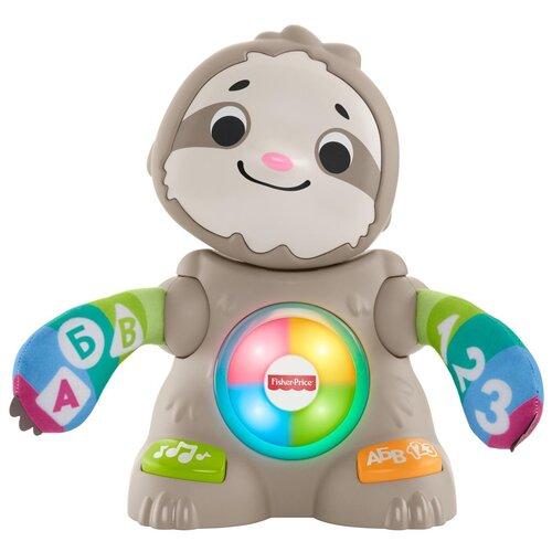 Фото - Интерактивная развивающая игрушка Fisher-Price Танцующий ленивец (GHY96), серый развивающий коврик fisher price ленивец