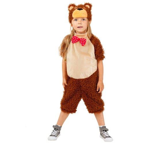 Фото - Костюм пушистого медведя, размер 104 см. костюм бурого медведя размер 46 48 11715