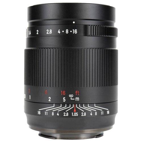 Фото - Объектив 7artisans 50mm f/1.05 Sony E черный объектив 7artisans 50mm f 1 8 canon ef m черный