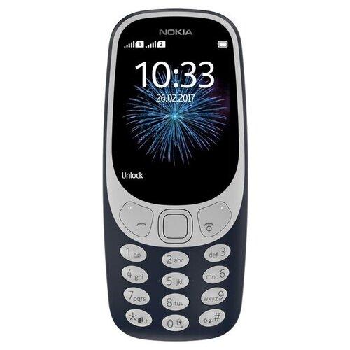 Фото - Телефон Nokia 3310 Dual Sim (2017), темно-синий сотовый телефон nokia 3310 dual sim 2017 синий