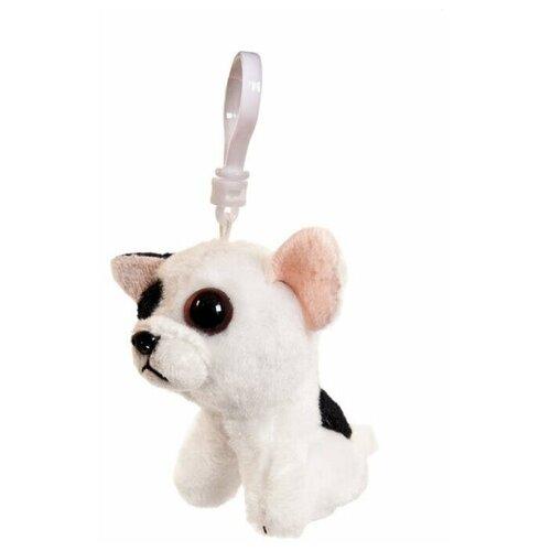 Игрушка-брелок Chuzhou Greenery Toys Бульдог белый 9 см