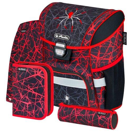 Купить Herlitz Ранец школьный Loop Plus Spider с наполнением 50032518, Рюкзаки, ранцы