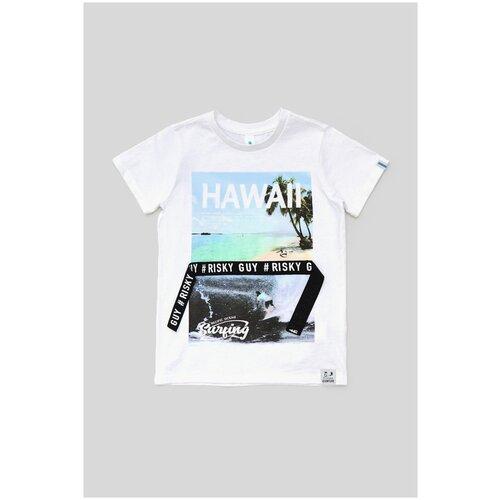 Фото - Футболка для мальчиков размер 158, белый, ТМ Acoola, арт. 20110110299 футболка acoola размер 158 белый