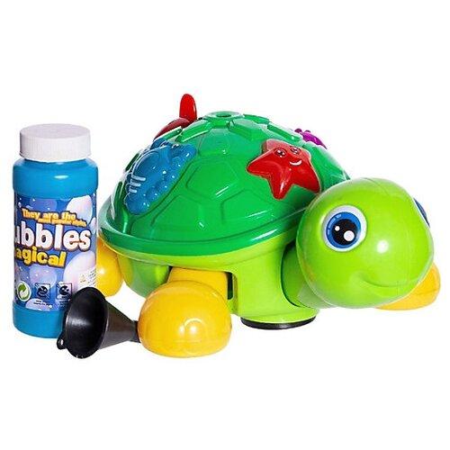 Набор для пускания мыльных пузырей Черепашка зелeный